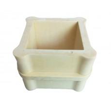 Béton Cube test Mould (polyuréthane Matériau )