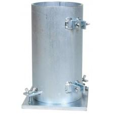 Béton Cylindre Mould (Matériau acier )