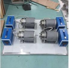 unidad de cuatro resistividad de soporte de núcleo
