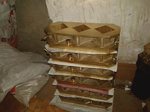 Cement-Mortar-Test-Mould--Brass-Material--Warranty